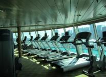 Fitness Center on Empress of the Seas