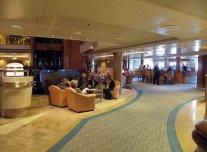 Lobby Bar on Golden Princess