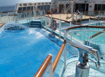 Minnows Pool on Queen Mary 2