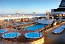 Seaside Pool on Celebrity Constellation