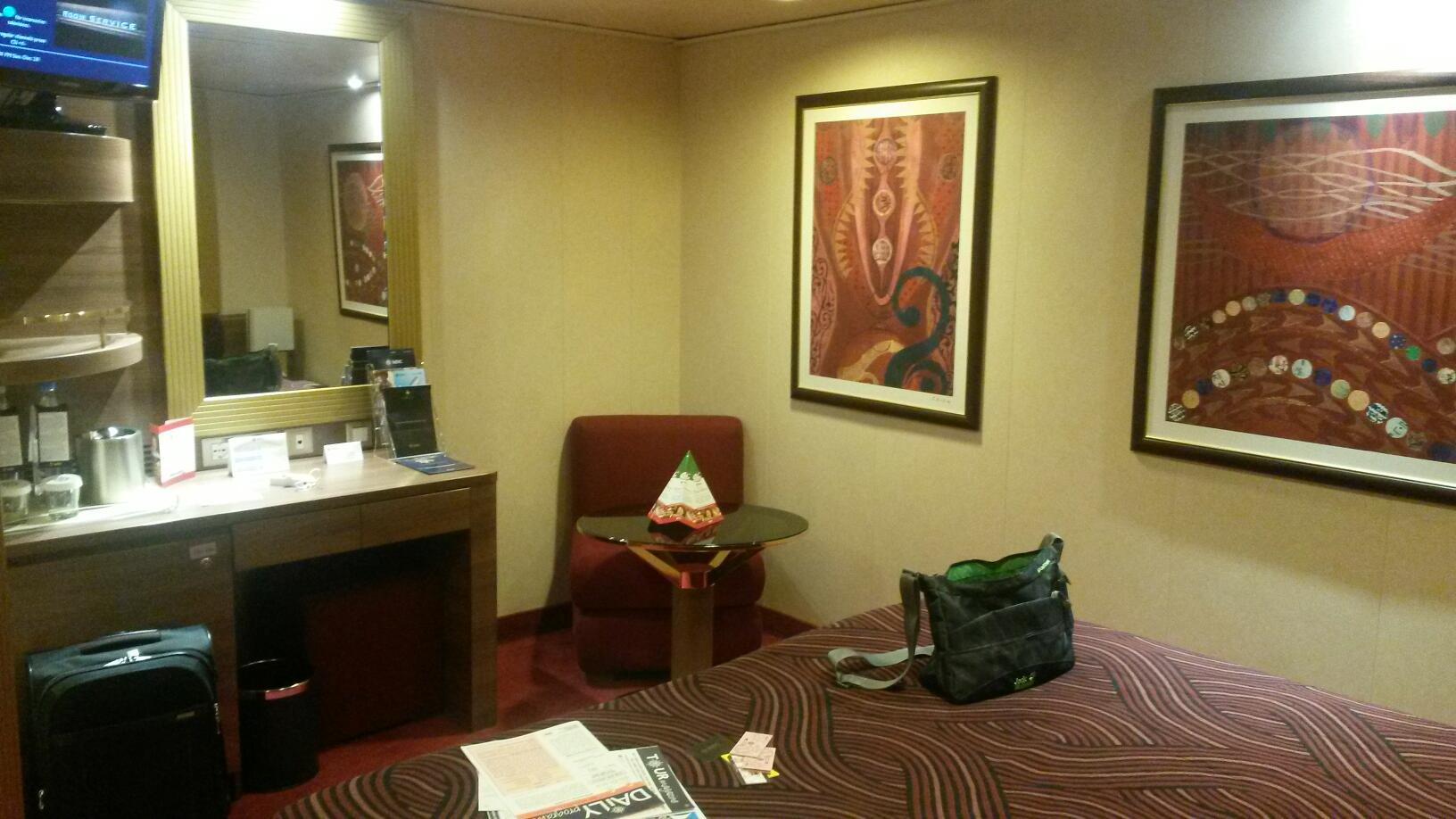 Interior Stateroom, Cabin Category I2, MSC Splendida