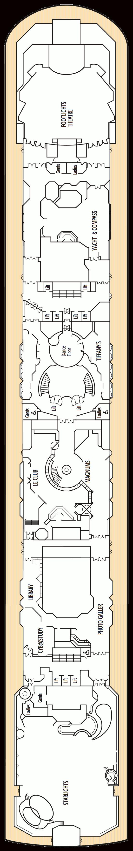 Oceana deck plans deck 7 baanklon Choice Image