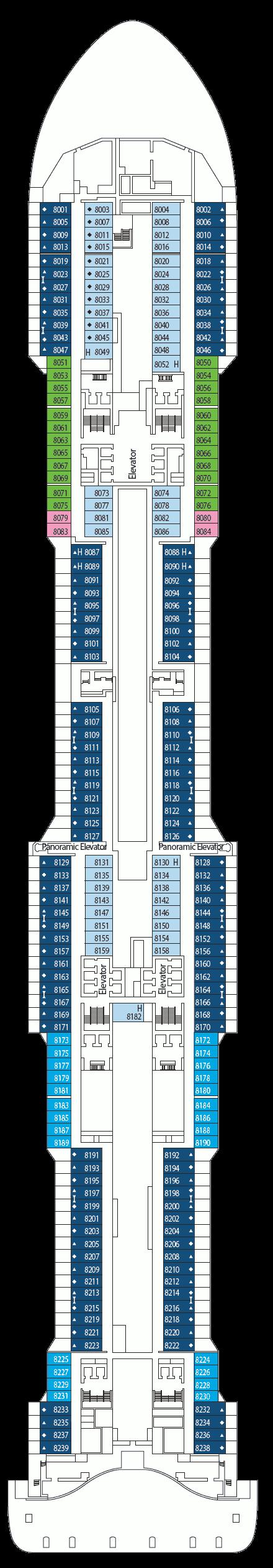 Msc Meraviglia Deck Plans