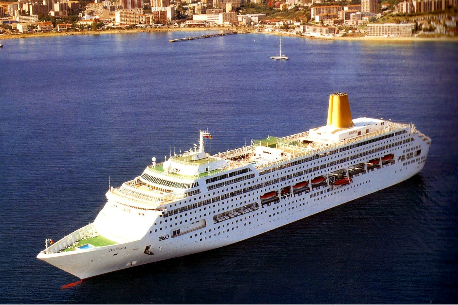 Oriana Cruise Review May Short Cruise To Guernsey - Oriana cruise ship