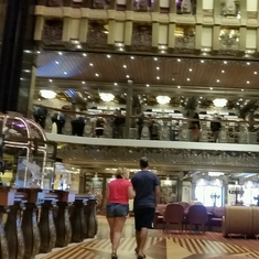 Renaissance Atrium and Bar on Carnival Pride