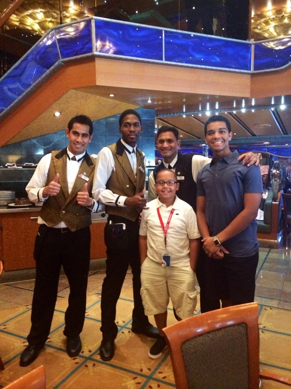 Best Wait Staff - Carnival Victory