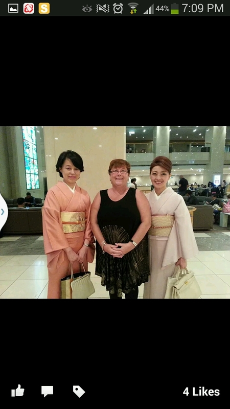 Tokyo 2 traditional ladies