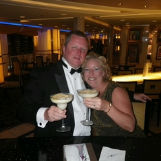 Champagne Bar/Martini Bar on Celebrity Eclipse