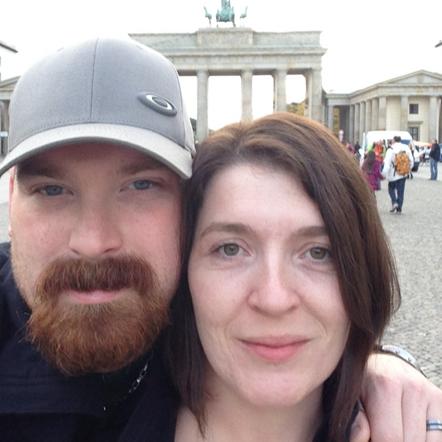 Dave and me in Berlin
