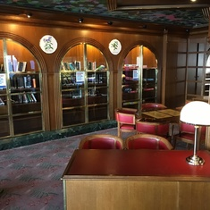 Oak Room Library on Carnival Sensation