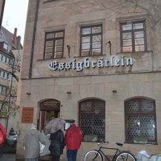 Nuremberg - Lunch at Michelin Star Restaurant -Essigbratlein