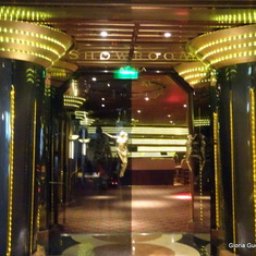 Entrance to Showroom at Sea