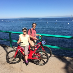 electric bikes on Catalina!