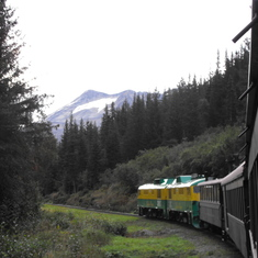 The Yukon Railroad Excursion in Skagway
