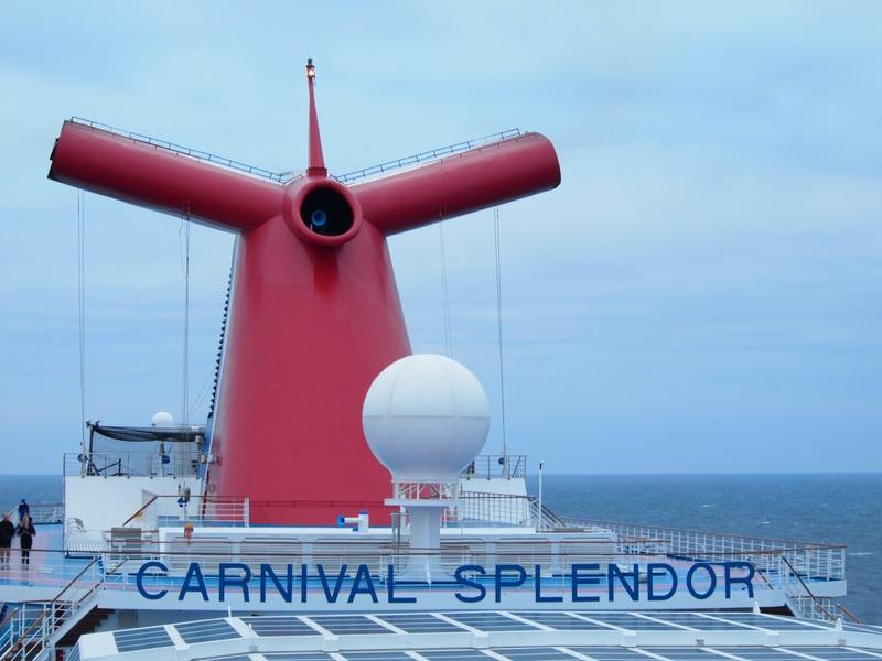 Whale Tail - Carnival Splendor