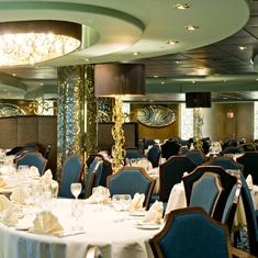Dining Room on MSC Splendida