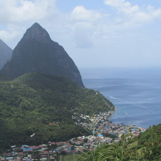 Castries, St. Lucia - Pitons - St. Lucia