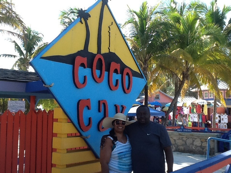 Cococay (Cruiseline's Private Island) - May 05, 2014