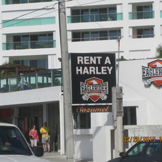 Rent a Harley in Cozumel