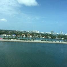 Miami, getting away