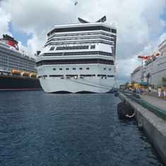 Conquest docked at Nassau