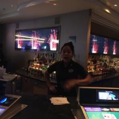Skyline Bar on Norwegian Escape
