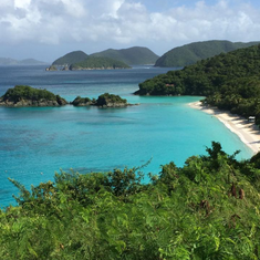 Trunk Bay at St. John