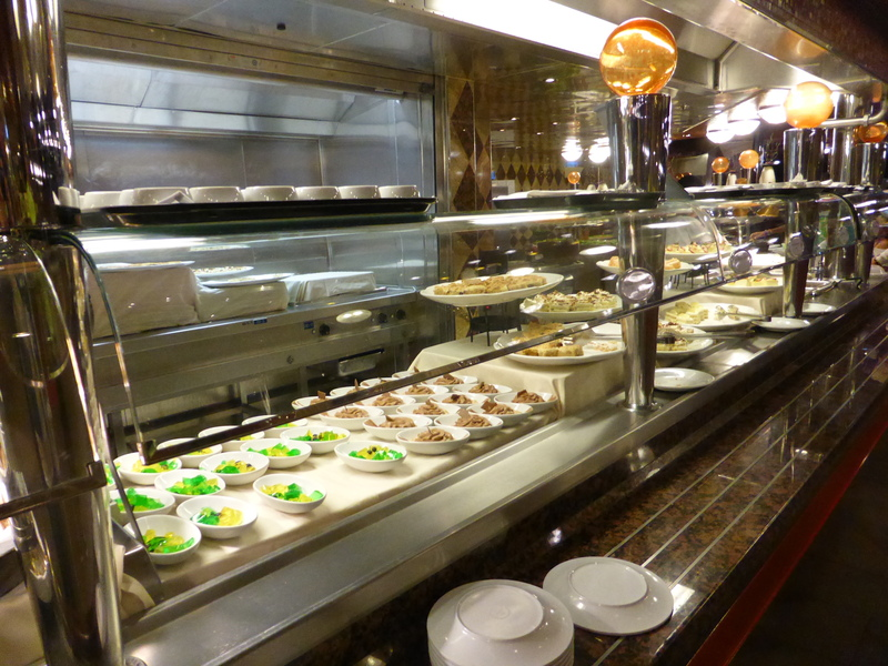 Desserts Station at Buffet - Carnival Dream