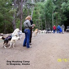 Mike King's Mushing Camp in Skagway