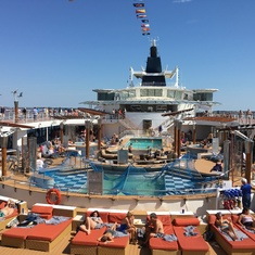 Celebrity Summit Pool Deck