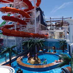 Water Slides and Kids pool