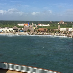 Costa Maya Aft View