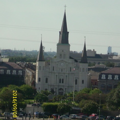 Back home, St. Louis Cathedral