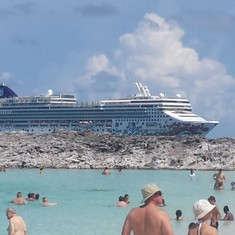 Great Stirrup Cay (Cruiseline Private Island), Bahamas - the Gem from Grand Stirrup Cay