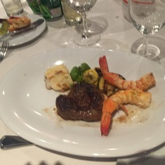 Main Dining Room Dinner - Surf & Turf