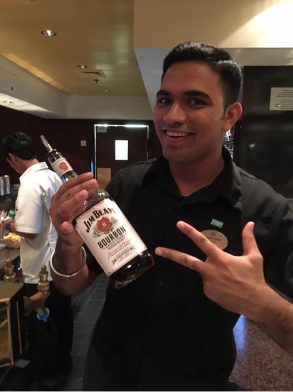 Shobir Singh. The best bartender ever!!! - Norwegian Gem