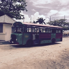 Bridgetown, Barbados - Open Air Jitney