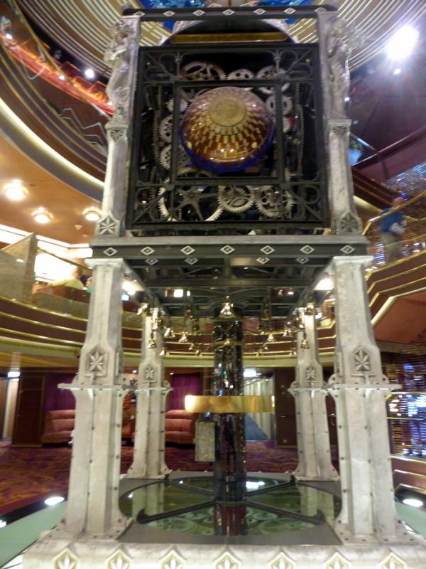 Clock Tower Planeto Astrolabium 3 Decks high, perpetual clock - Amsterdam