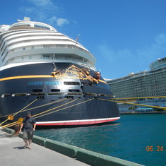 Nassau, Bahamas - Back of the boat