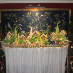 Display outside Garden Cafe