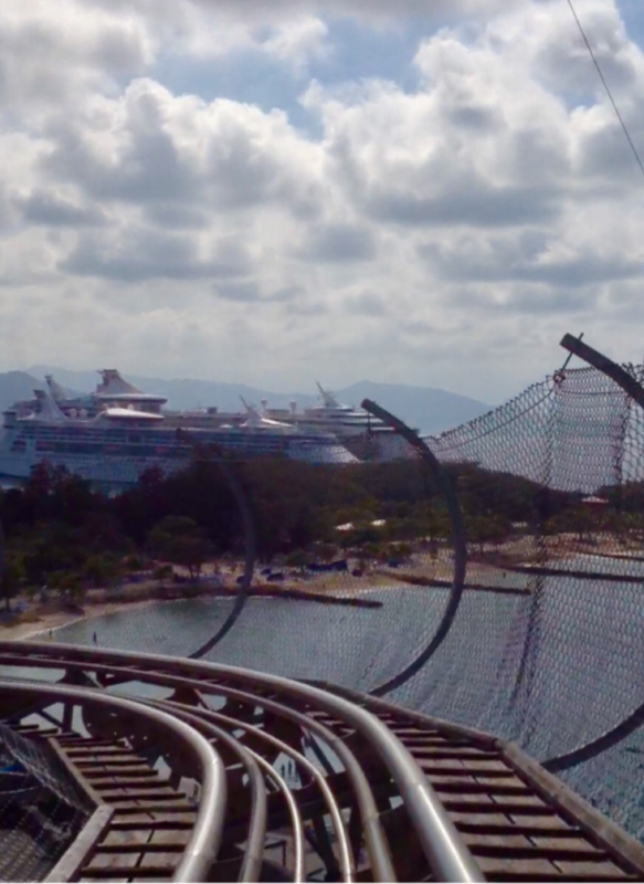 Labadee (Cruiseline Private Island) - The dragon coaster