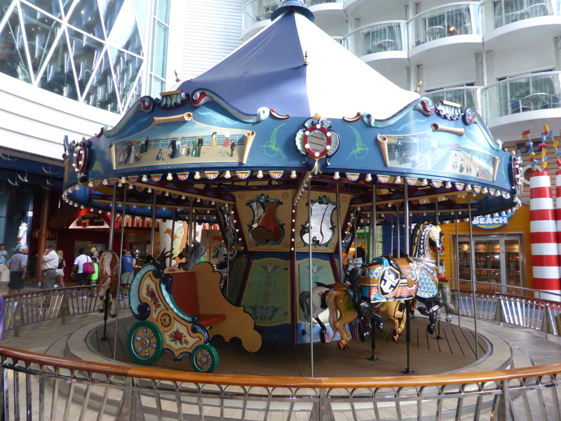 Carousel - Boardwalk - Allure of the Seas