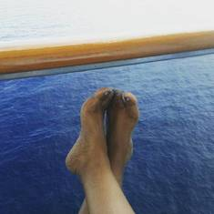 Nassau, Bahamas - balcony rm 1010