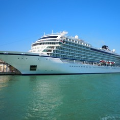 The Viking Star in Port