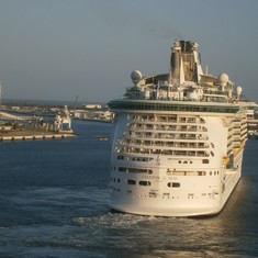 Port Canaveral, Florida - The Freedom of the Seas