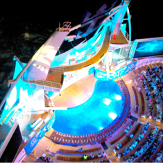 AquaTheater on Allure of the Seas