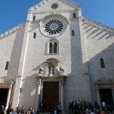 Bari baptisms church, italy