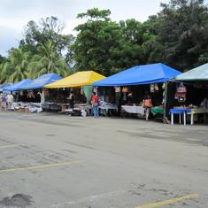 Market on shore