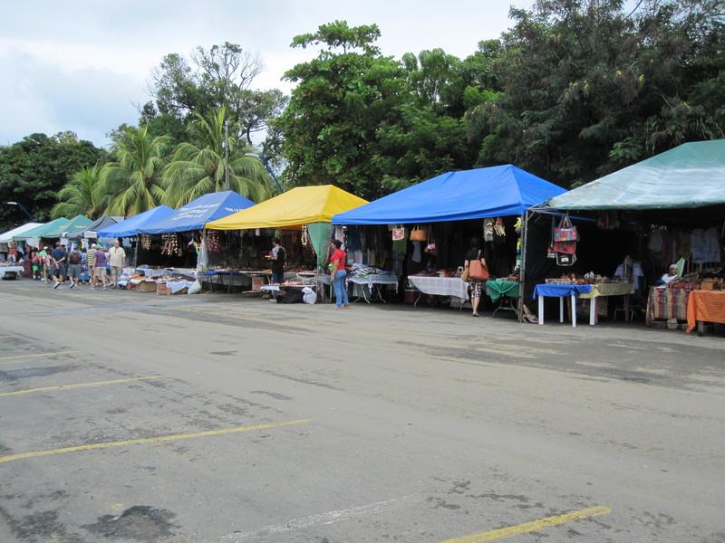 San Juan Del Sur, Nicaragua - Market on shore