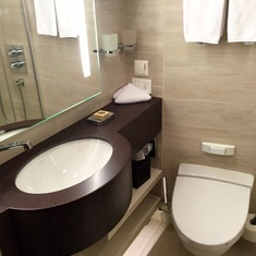 Bathroom with Heated Floor